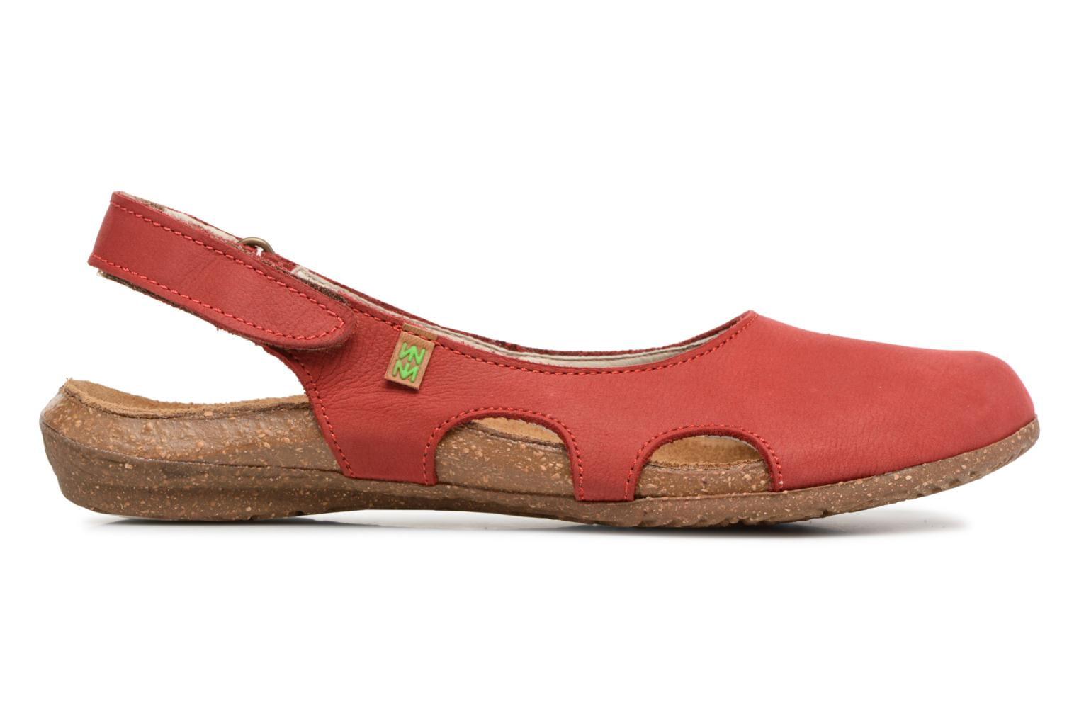 Mules & clogs El Naturalista Wakataua N413 Red back view