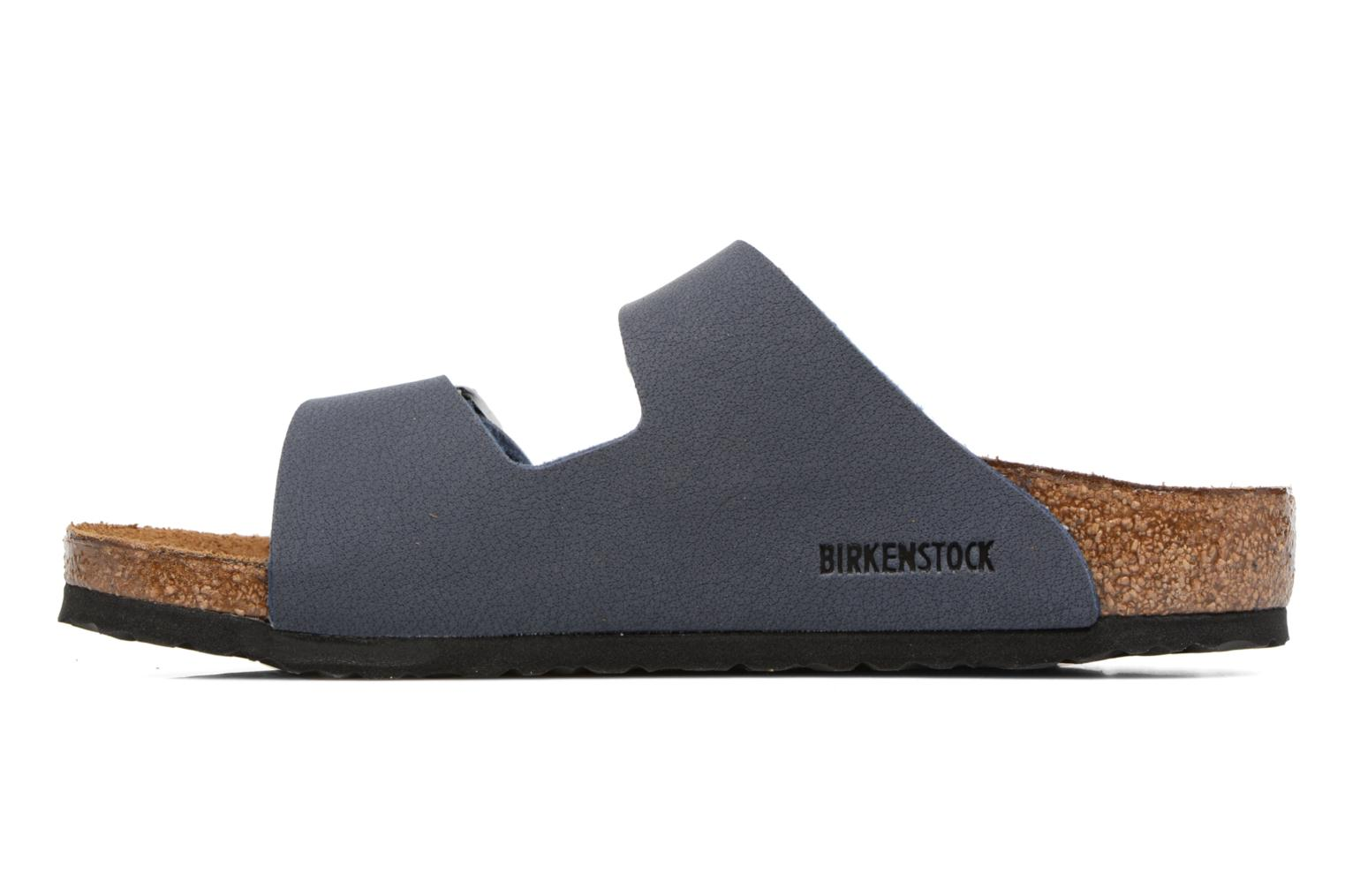 Sandals Birkenstock Arizona Birko-Flor Blue front view