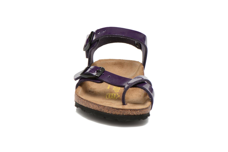 Sandales et nu-pieds Birkenstock TAORMINA Violet vue portées chaussures