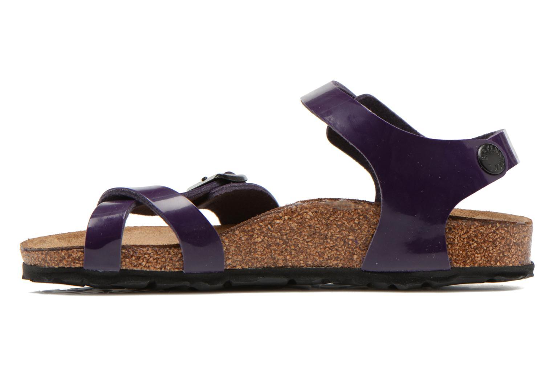 Sandals Birkenstock TAORMINA Purple front view