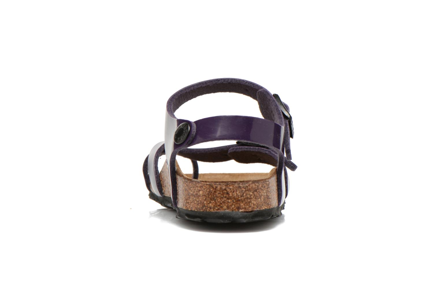 Sandals Birkenstock TAORMINA Purple view from the right