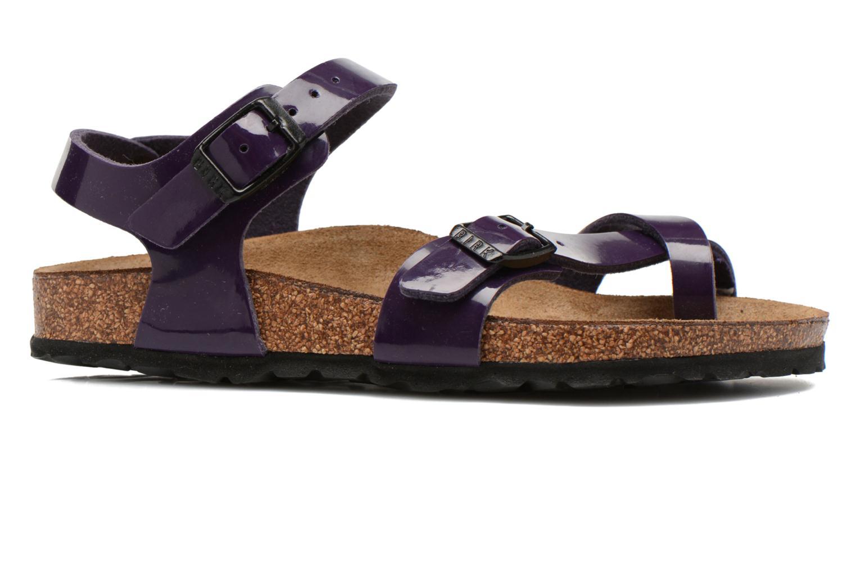 Sandals Birkenstock TAORMINA Purple back view