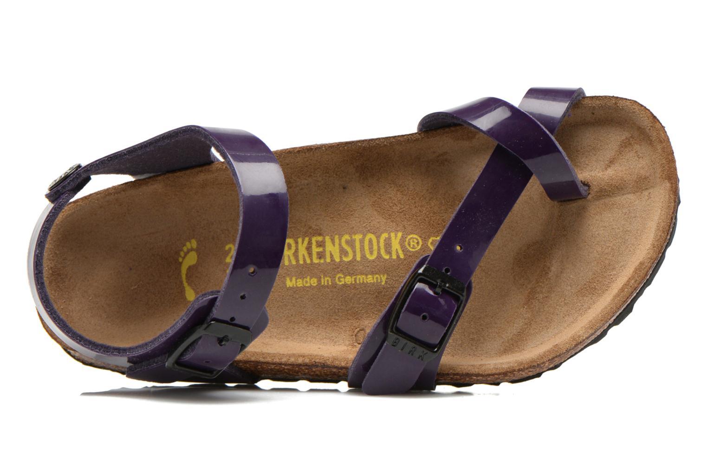 Sandals Birkenstock TAORMINA Purple view from the left