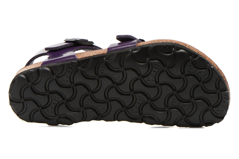 Sandales et nu-pieds Birkenstock TAORMINA Violet vue haut