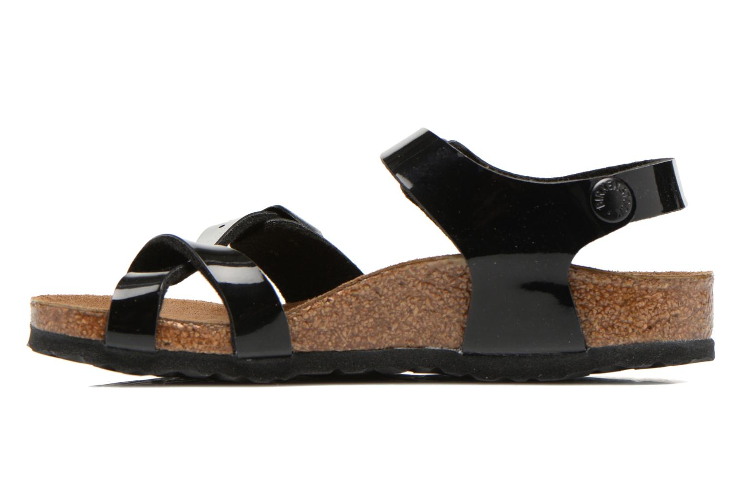 Sandals Birkenstock TAORMINA Black front view