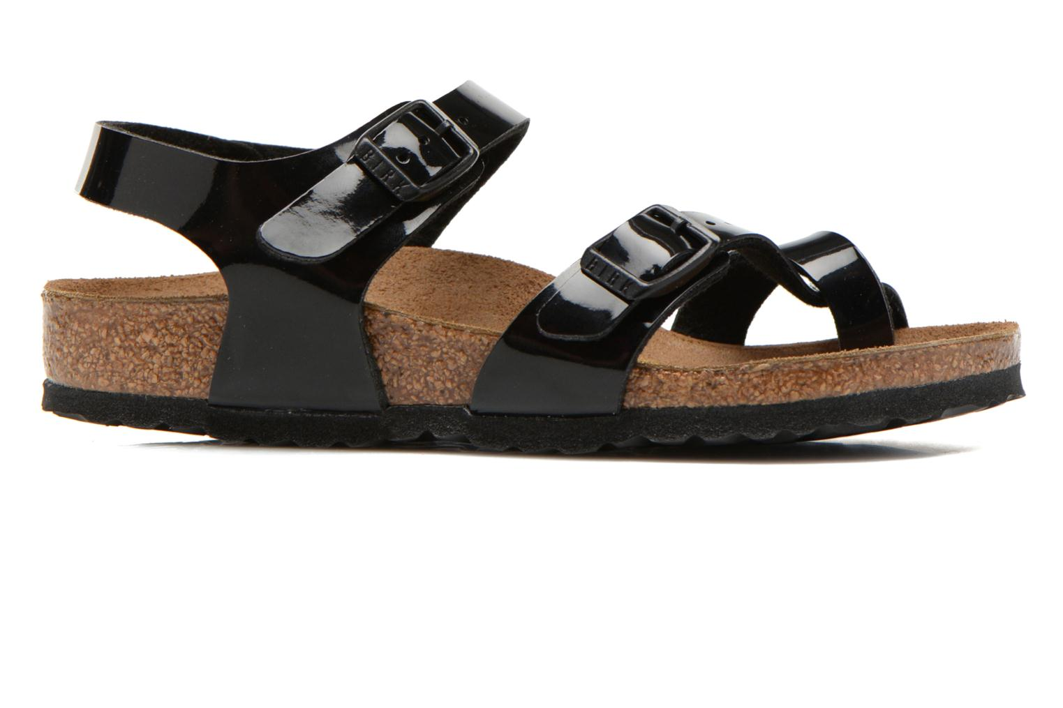 Sandals Birkenstock TAORMINA Black back view