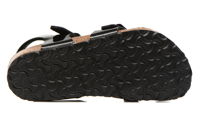 Sandales et nu-pieds Birkenstock TAORMINA Noir vue haut