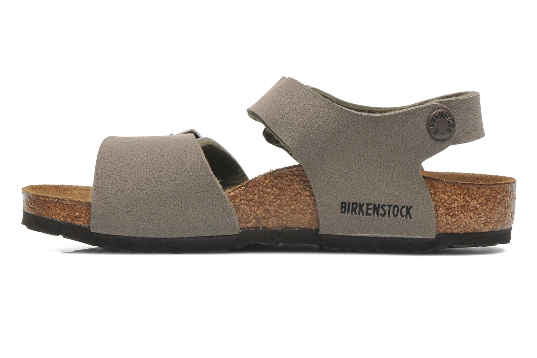 Sandals Birkenstock NEW YORK Grey front view