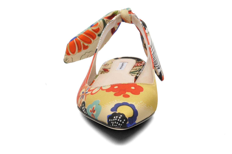 Ballerines Carven Derine Multicolore vue portées chaussures