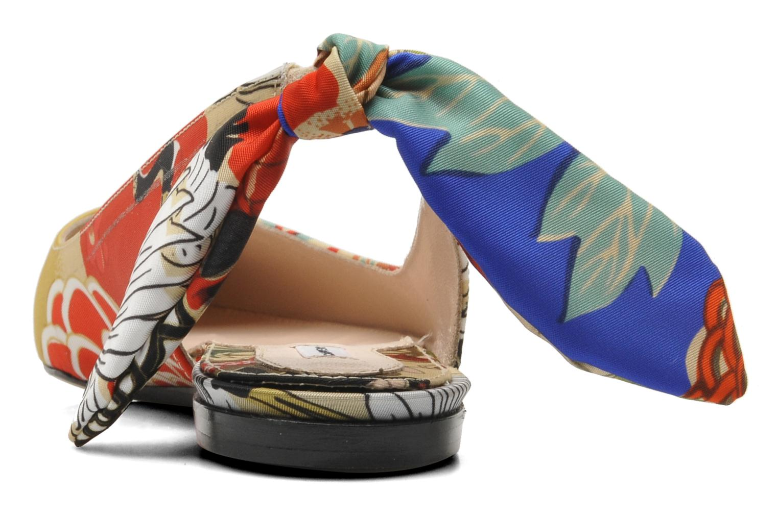 Ballet pumps Carven Derine Multicolor view from the right