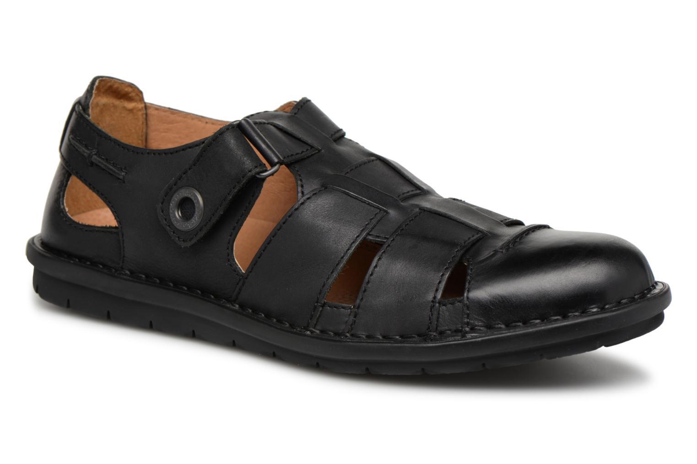 Sandalen Kickers Vidal schwarz detaillierte ansicht/modell