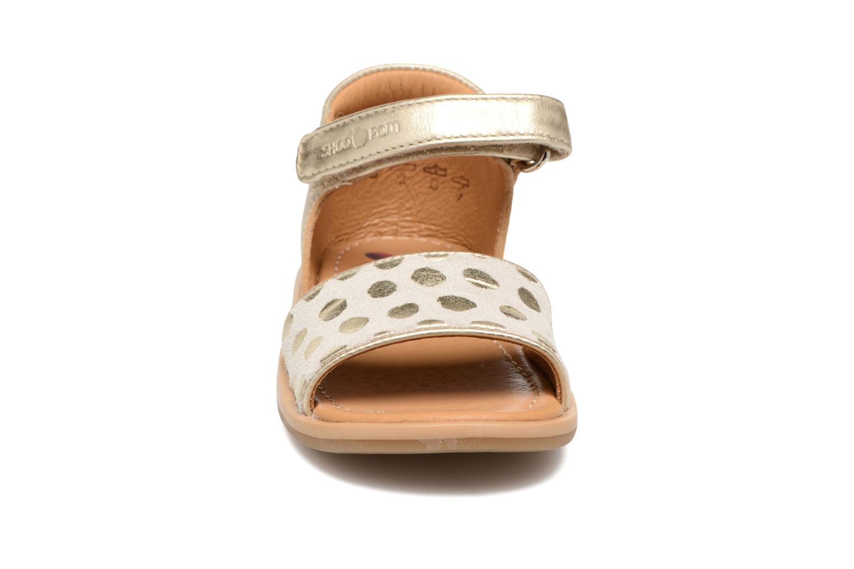 Tity Back Sandal BEIGE/GOLD