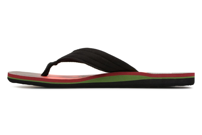 Flip flops Quiksilver Molokai layback Orange front view