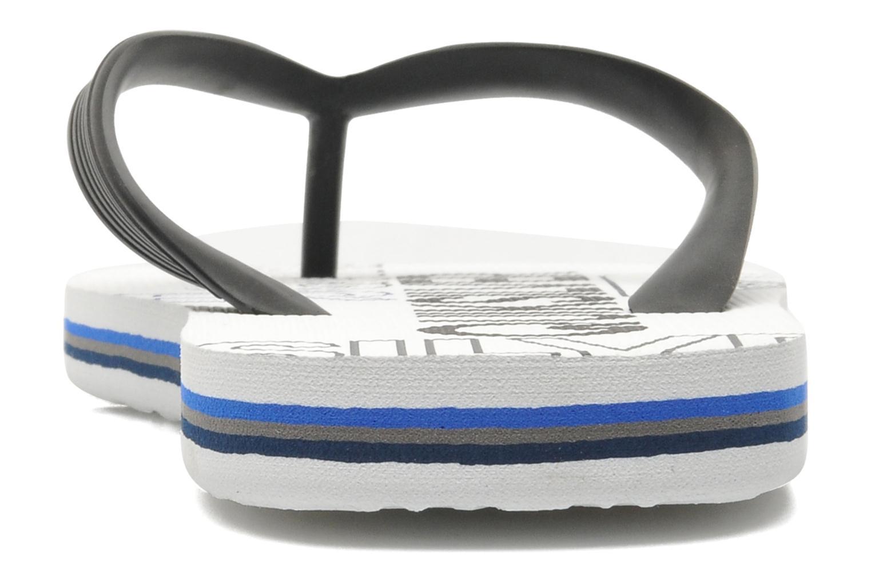 Flip flops Quiksilver Molokai nitro 3 White view from the right