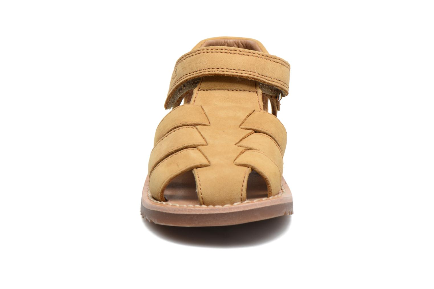 Sandals Pom d Api Waff Papy Yellow model view