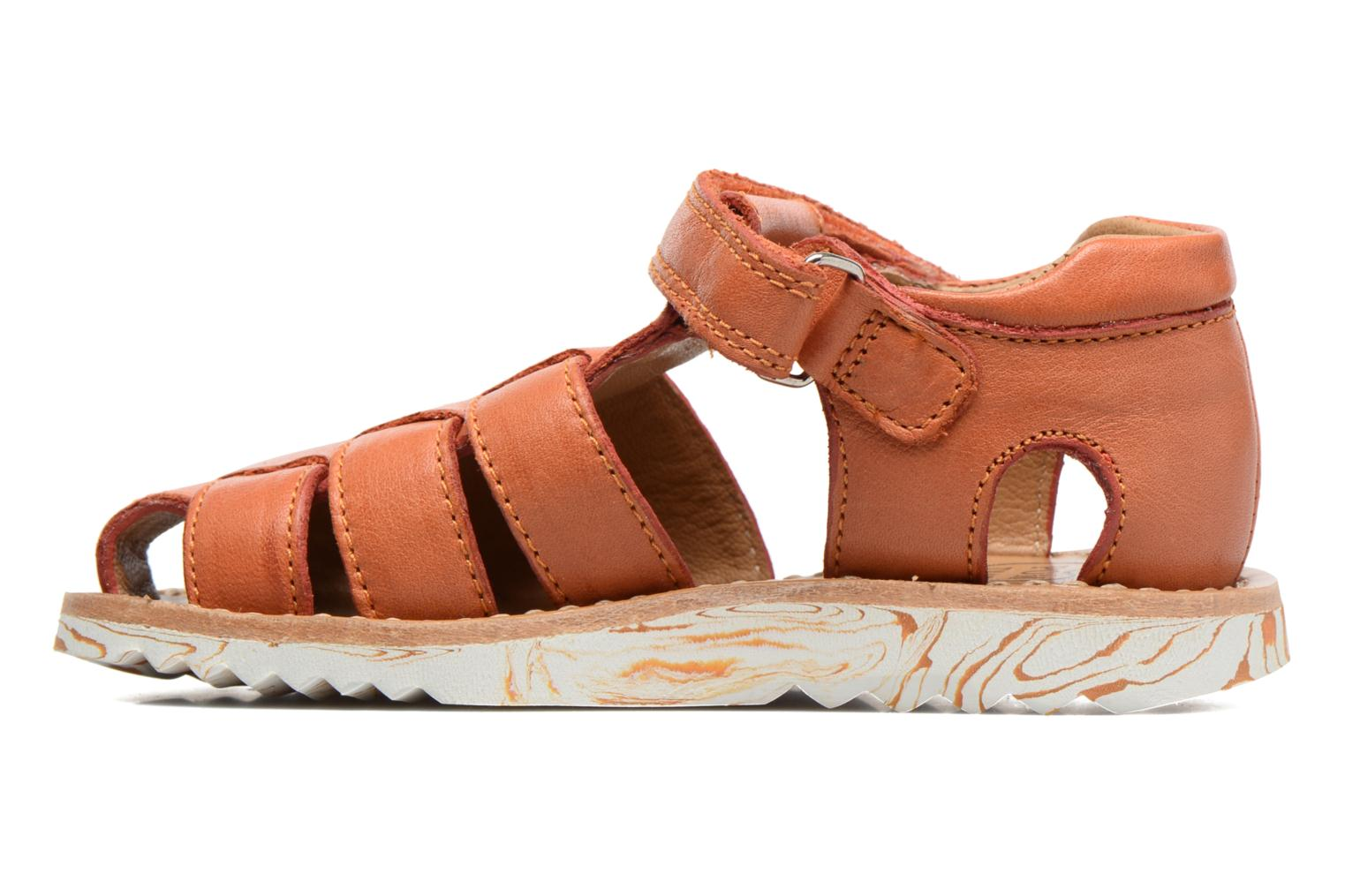 Sandals Pom d Api Waff Papy Orange front view