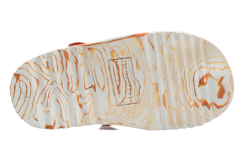 Sandali e scarpe aperte Pom d Api Waff Papy Arancione immagine dall'alto