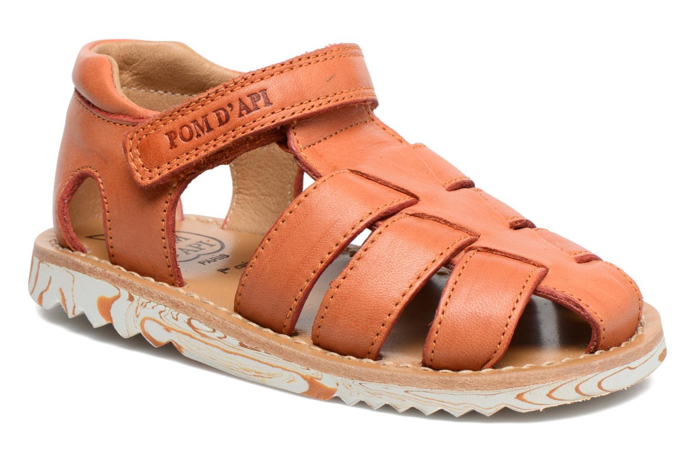 Sandali e scarpe aperte Pom d Api Waff Papy Arancione vedi dettaglio/paio