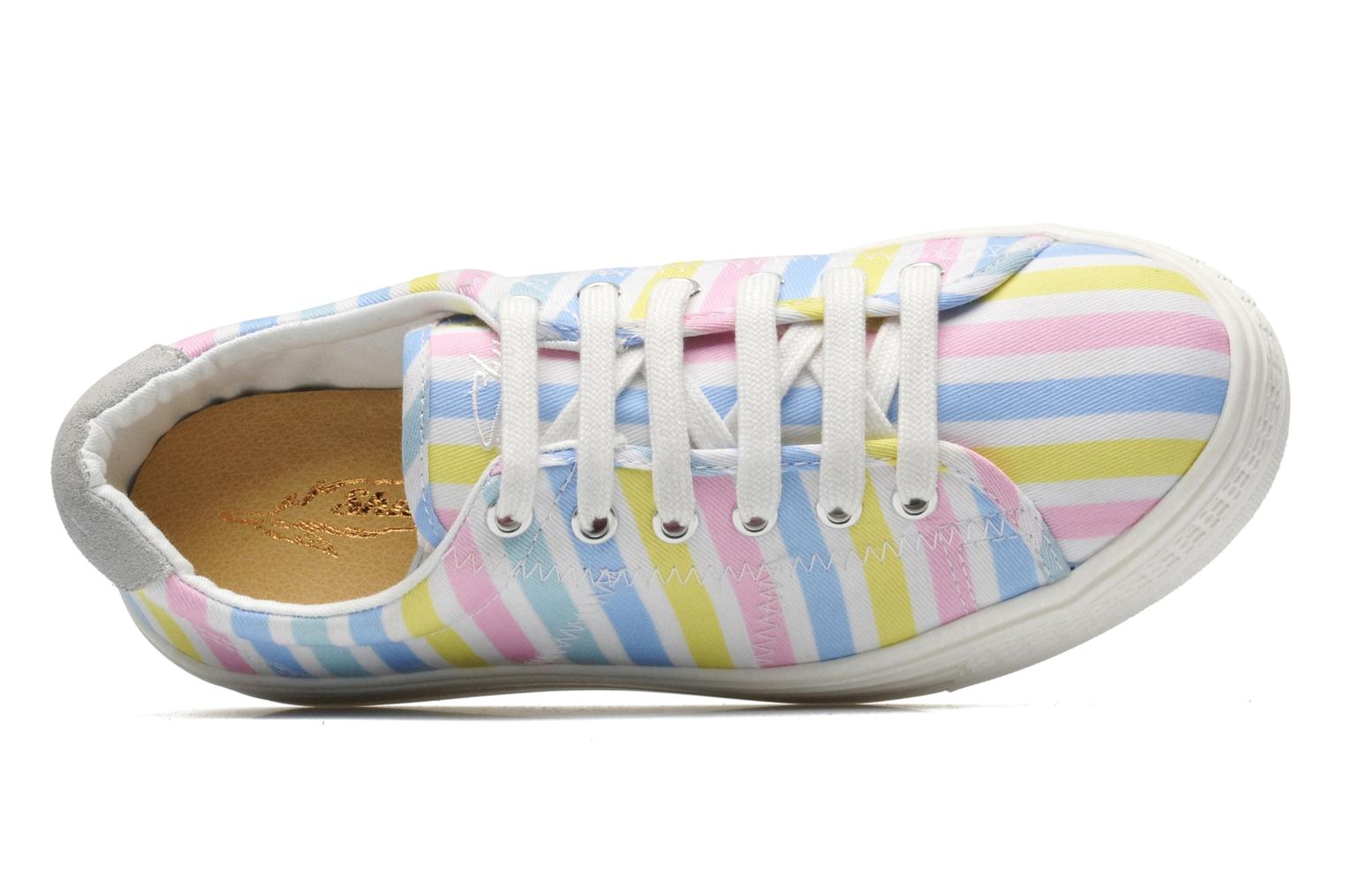 Trainers Shwik STEP LO CUT Multicolor view from the left
