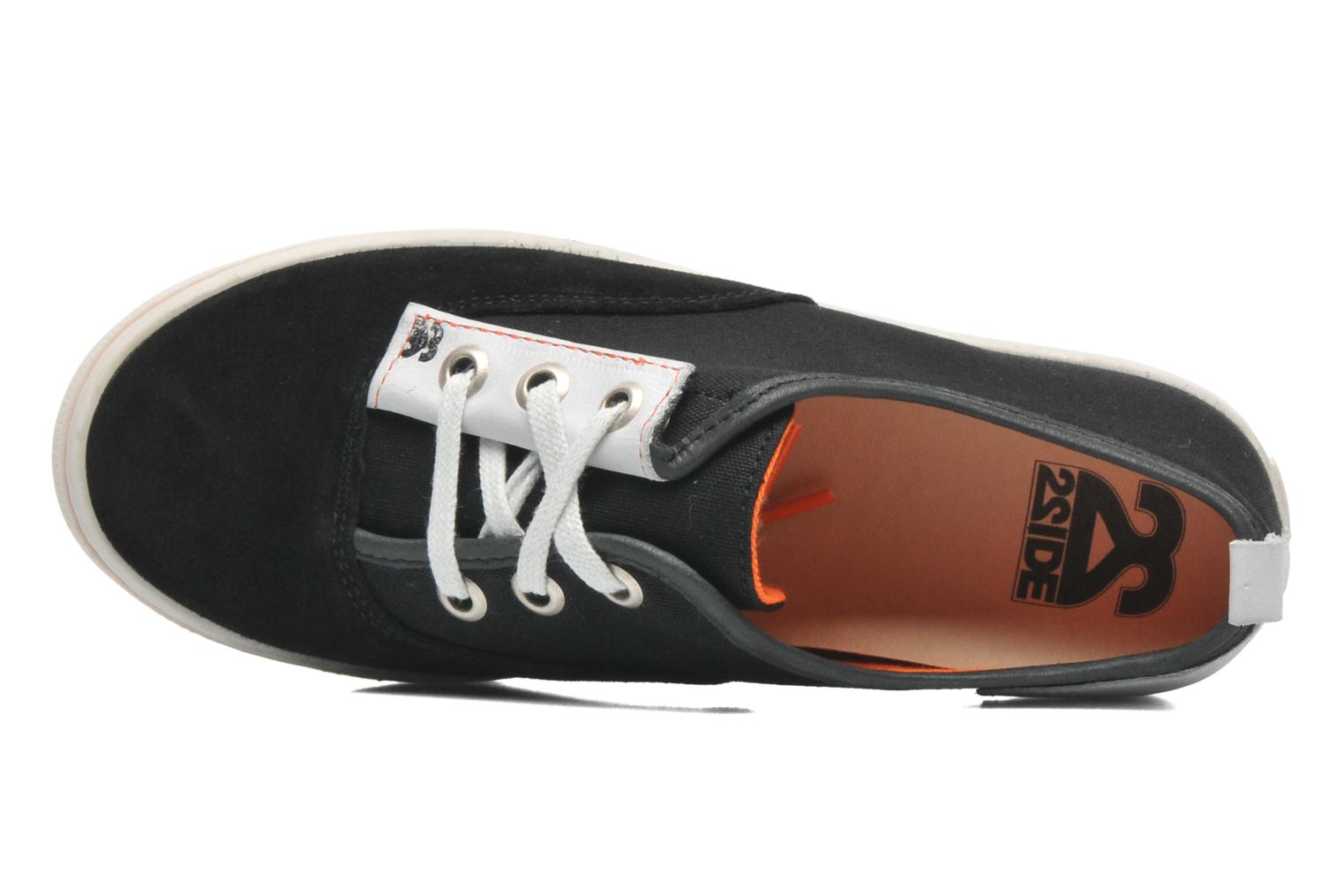 Sneakers 2 Side 2S - SURF Sort se fra venstre