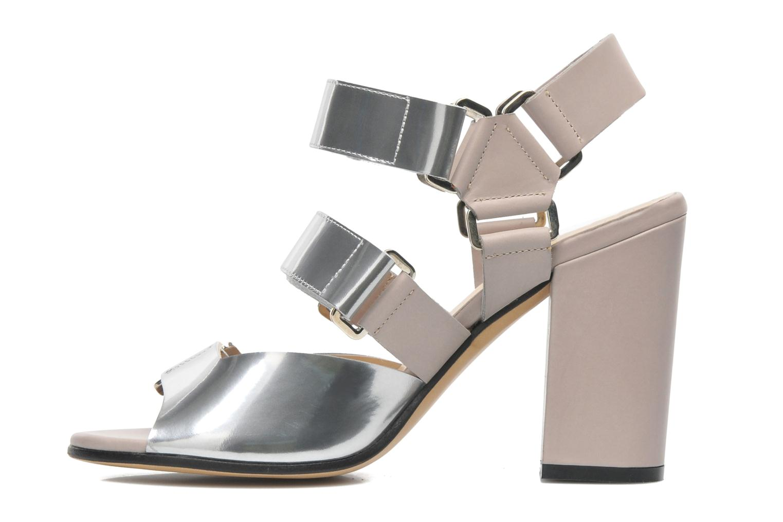 Sandales et nu-pieds Rebecca Balducci Sparta Gris vue face
