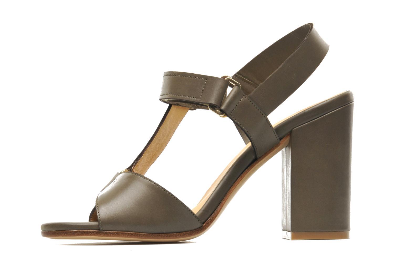 Sandales et nu-pieds Rebecca Balducci Silvia Vert vue face