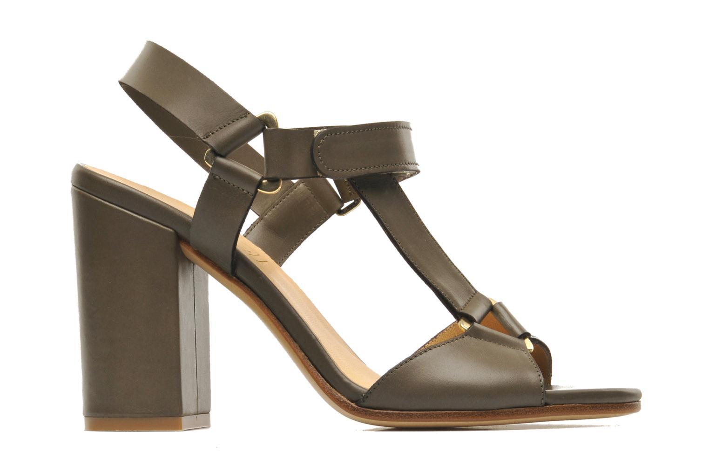 Sandales et nu-pieds Rebecca Balducci Silvia Vert vue derrière