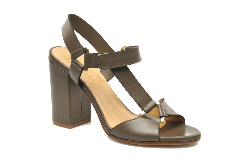 Sandales et nu-pieds Rebecca Balducci Silvia Vert vue détail/paire