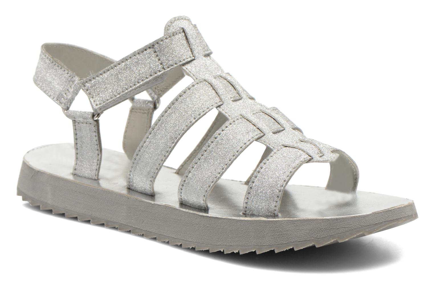 Sandals Eleven paris Duse F Silver detailed view/ Pair view