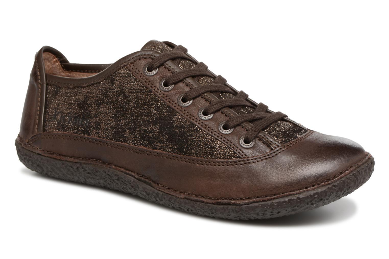 Los últimos zapatos de descuento para hombres y mujeres Kickers Hollyday (Marrón) - Zapatos con cordones en Más cómodo
