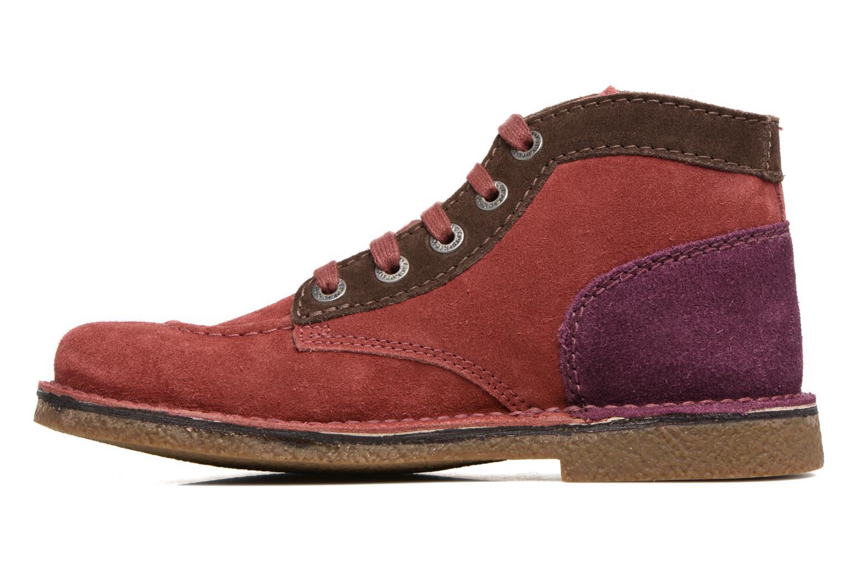 Chaussures à lacets Kickers Legendoknew Bordeaux vue face