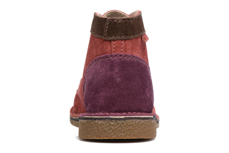 Chaussures à lacets Kickers Legendoknew Bordeaux vue droite