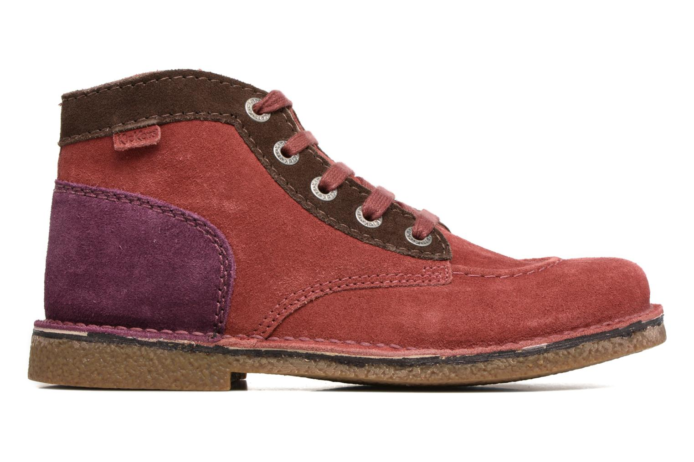 Chaussures à lacets Kickers Legendoknew Bordeaux vue derrière
