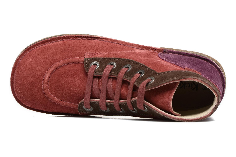 Chaussures à lacets Kickers Legendoknew Bordeaux vue gauche