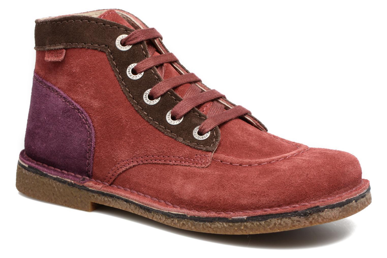 Chaussures à lacets Kickers Legendoknew Bordeaux vue détail/paire