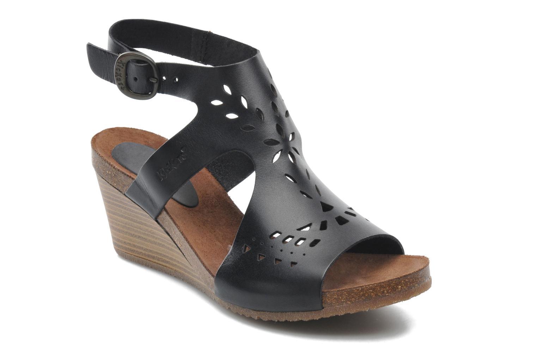 Sandales et nu-pieds Kickers Sperfo Noir vue détail/paire