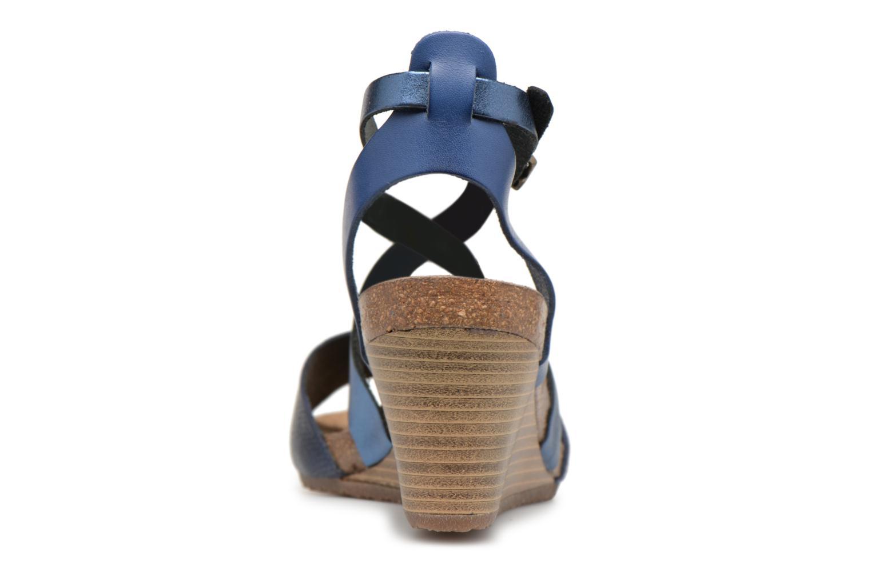 Sandales et nu-pieds Kickers Spagnol Bleu vue droite