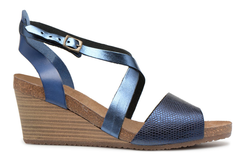 Sandales et nu-pieds Kickers Spagnol Bleu vue derrière