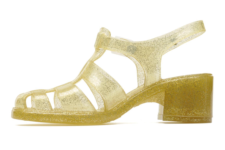 Sandaler Méduse Nikita Bronze och Guld bild från framsidan