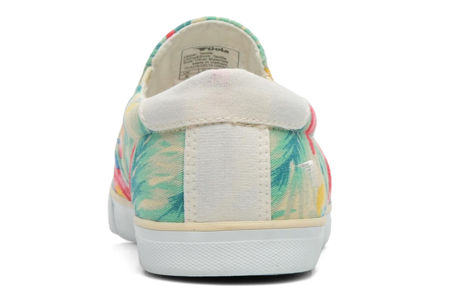 Trainers Gola Delta Hibiscus Multicolor view from the right
