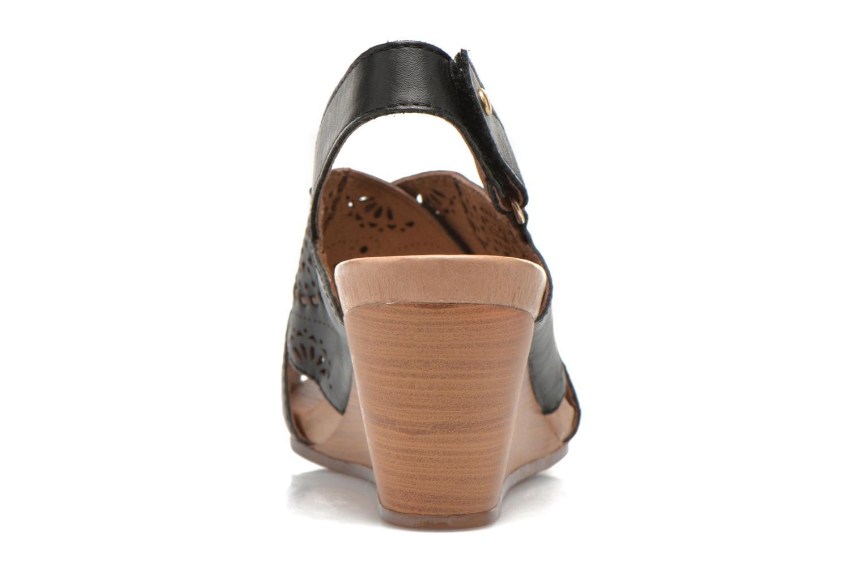 Sandales et nu-pieds Pikolinos Bali W0A-0597 Noir vue droite