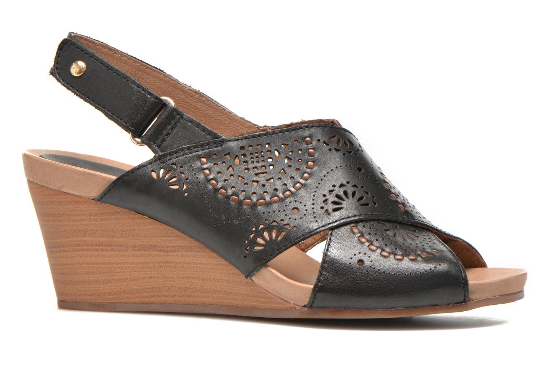 Sandales et nu-pieds Pikolinos Bali W0A-0597 Noir vue derrière