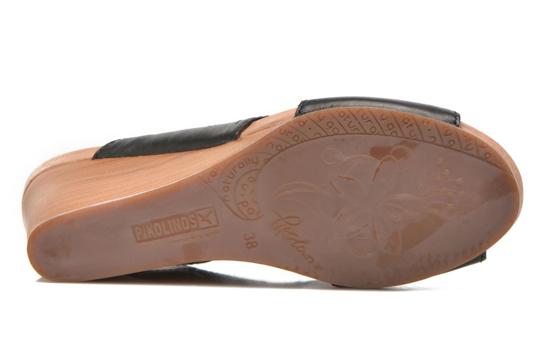 Sandales et nu-pieds Pikolinos Bali W0A-0597 Noir vue haut