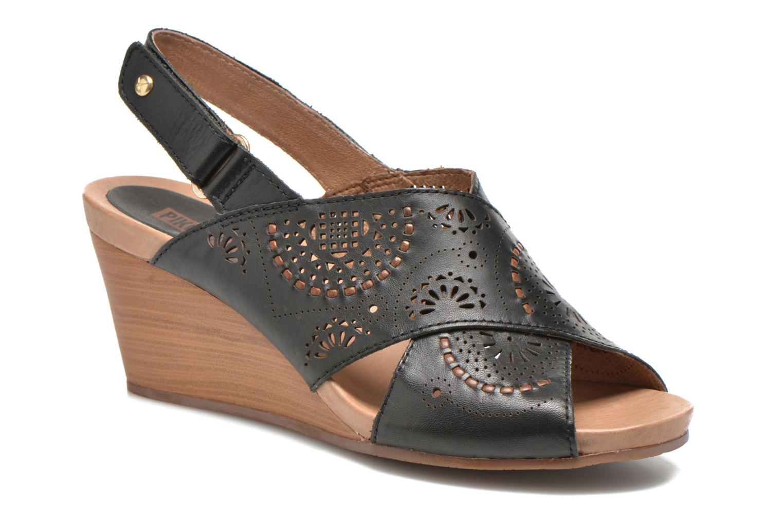 Sandales et nu-pieds Pikolinos Bali W0A-0597 Noir vue détail/paire