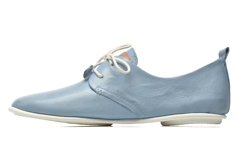 Chaussures à lacets Pikolinos Calabria 917-7123KR Bleu vue face
