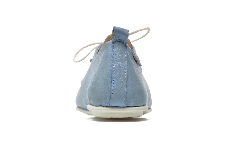 Chaussures à lacets Pikolinos Calabria 917-7123KR Bleu vue droite