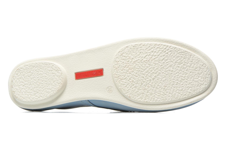 Chaussures à lacets Pikolinos Calabria 917-7123KR Bleu vue haut