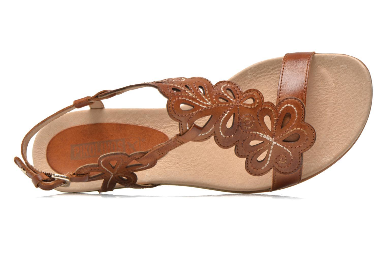 Sandales et nu-pieds Pikolinos Alcudia 816-0501 Marron vue gauche