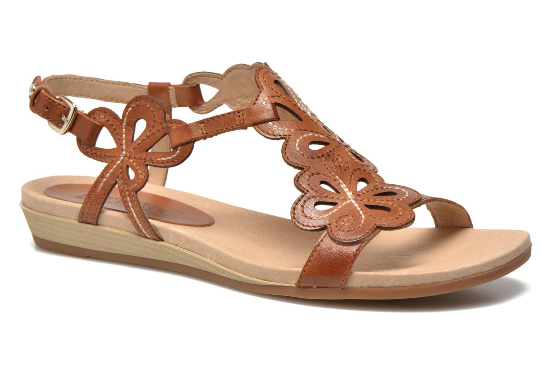 Sandales et nu-pieds Pikolinos Alcudia 816-0501 Marron vue détail/paire