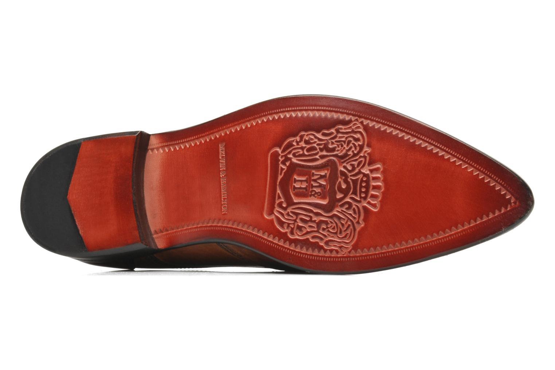 Zapatos con cordones Melvin & Hamilton Toni 2 Marrón vista de arriba